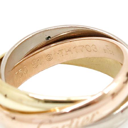 Cartier(까르띠에) B4032500 18K 골드 삼색 트리니티 5포인트 다이아 반지 - 11호 [압구정매장]