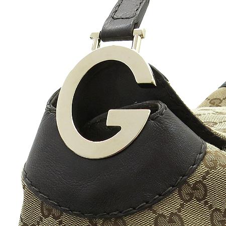 Gucci(구찌) 203506 GG 로고 자가드 G 로고 금장 토트백