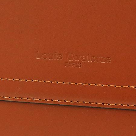 Louis_Quatorze (루이까또즈) 카멜 컬러 레더 토트백