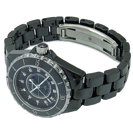 Chanel(샤넬) H1625 J12 블랙 세라믹 12포인트 다이아 여성용 시계