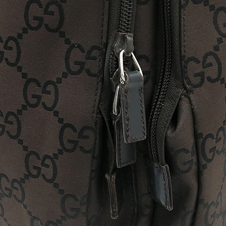 Gucci(구찌) 112249 GG 로고 패브릭 멀티 포켓 크로스백