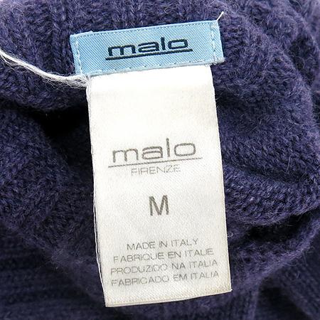 MALO(말로) 100% 캐시미어 퍼플 컬러 장갑
