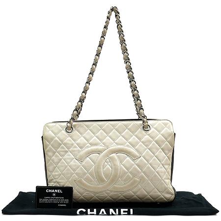 Chanel(샤넬) 램스킨 2.55 COCO 로고 멀티 컬러 체인 숄더백