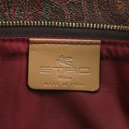 Etro(에트로) 1430 9472 페이즐리 PVC레더 혼방 미니 숄더백