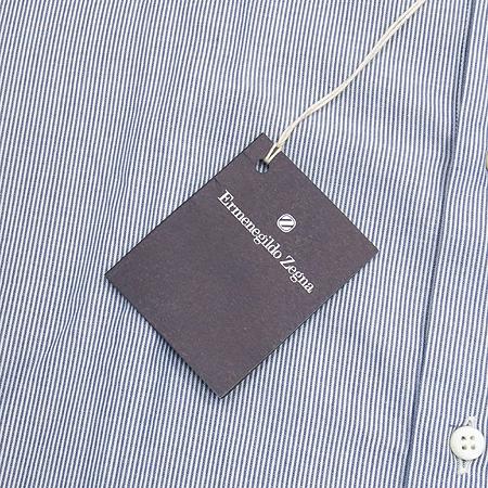Zegna(제냐) 블루컬러 스트라이프 셔츠