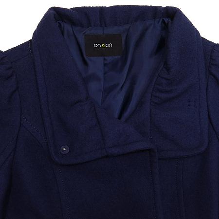 ON&ON(온엔온) 네이비컬러 코트 (허리끈set)