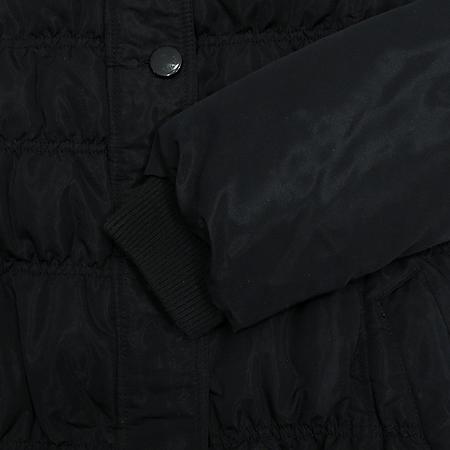 ON&ON(온엔온) 블랙컬러 후드 집업 점퍼 (충전제:오리솜털70,깃털30)