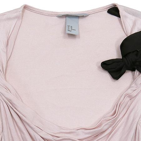 H&M(에이치엔엠) 핑크컬러 리본장식 나시 이미지2 - 고이비토 중고명품