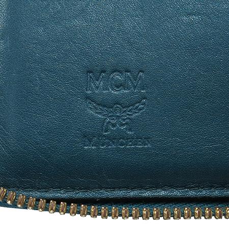 MCM(엠씨엠) MYZ 1SXL01 딥 레이크 에나멜 레더 짚업 중지갑