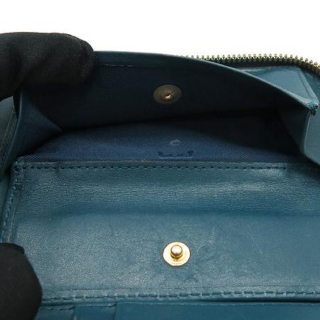 MCM(엠씨엠) MYZ 1SXL01 딥 레이크 에나멜 레더 짚업 중지갑 이미지7 - 고이비토 중고명품