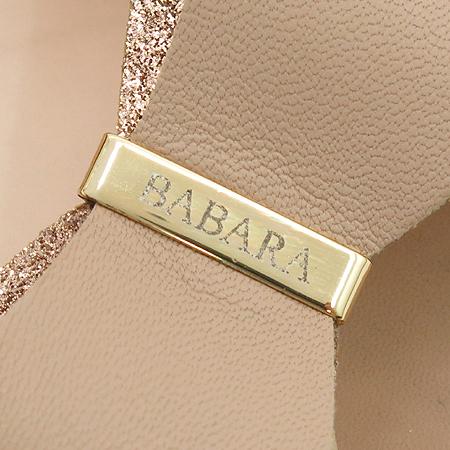 BABARA(바바라) 리본 장식 토오픈 베이지 레더 여성용 구두