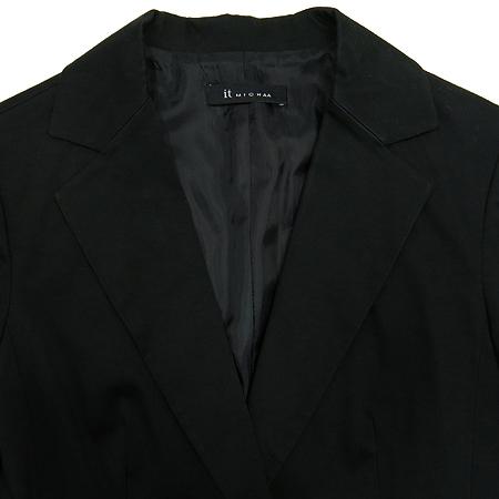 MICHAA(미샤) 블랙컬러 1버튼 자켓