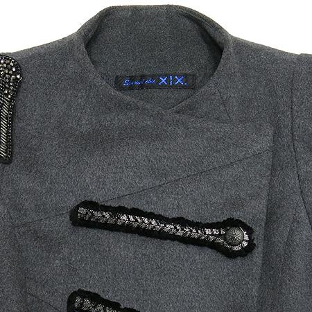 DECO(데코) XIX 그레이컬러 자켓