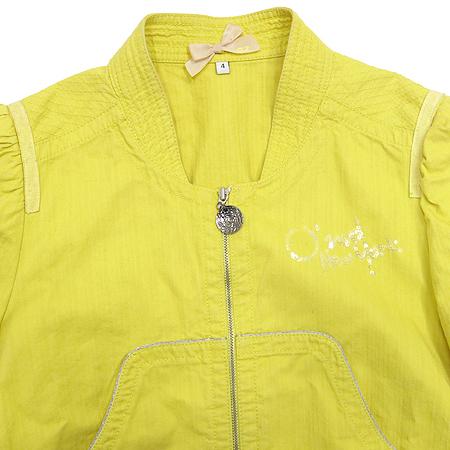 O'2nd(오즈세컨) 옐로우컬러 집업 자켓