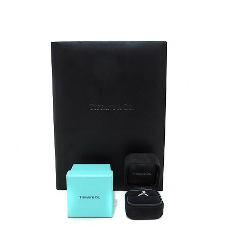 Tiffany(티파니) PT950 (플래티늄) 0.24캐럿 VS2 H컬러 다이아 웨딩 반지 10호 [부천 현대점]