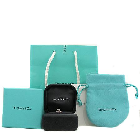 Tiffany(티파니) PT950(플래티늄) 1포인트 다이아 웨딩 반지- 8호