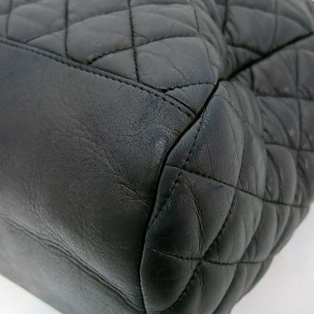 Chanel(샤넬) moscow 블랙 램스킨 은장 coco 로고 장식 숄더백[부천 현대점] 이미지5 - 고이비토 중고명품