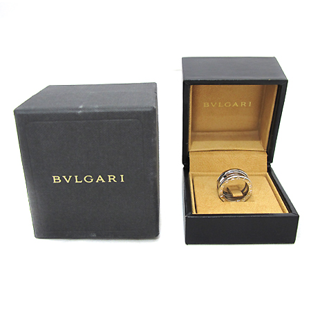 Bvlgari(불가리) AN191024 18K 화이트 골드 B-ZERO 1(비제로 원) 3링 반지 - 7호 [부천 현대점]