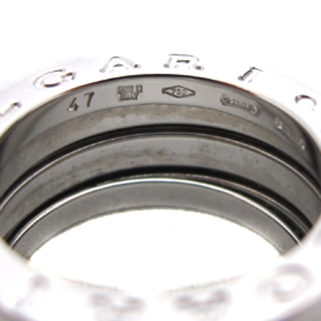 Bvlgari(불가리) AN191024 18K 화이트 골드 B-ZERO 1(비제로 원) 3링 반지 - 7호 [부천 현대점] 이미지4 - 고이비토 중고명품