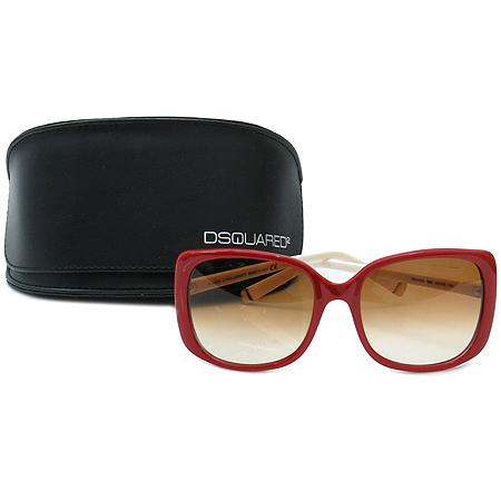 DSQUARED2(디스퀘어드2) DQ0034 66F 측면 이니셜 선글라스 [부산본점]