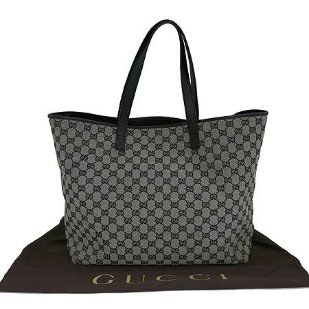 Gucci(구찌) 257245 GG 로고 자가드 레더 트리밍 숄더백 [일산매장]