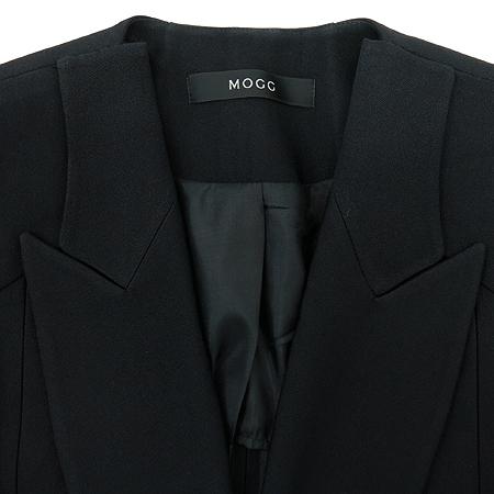 MOGG(모그) 블랙 원버튼 자켓