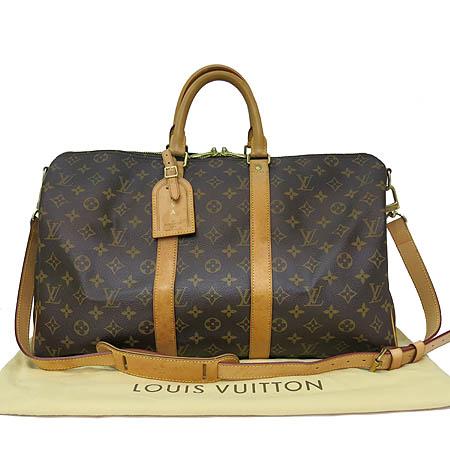 Louis Vuitton(루이비통) M41418 모노그램 캔버스 키폴 45 반둘리에 토트백 + 숄더 스트랩 [일산매장]