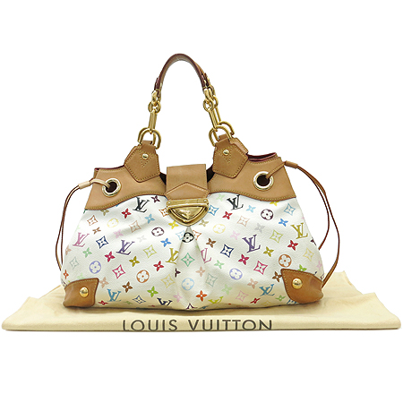 Louis Vuitton(루이비통) M40123 모노그램 멀티컬러 화이트 우슐라 숄더백 [대구반월당본점]