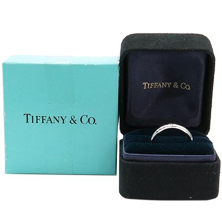 Tiffany(티파니) PT950(플레티늄) 1포인트 다이아 엘사퍼레티 반지 - 8호
