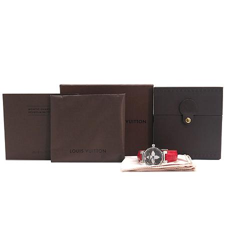Louis Vuitton(루이비통) Q121F1 땅부르 포에버 다이아 악어 가죽 여성용 시계 [강남본점]
