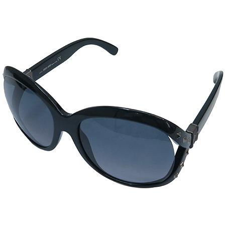 CAVALLI(까발리) 598S 측면 스터드 금장 로고 오버라지 뿔테 선글라스 이미지2 - 고이비토 중고명품