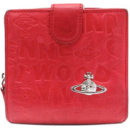 Vivienne_Westwood(비비안웨스트우드) 은장 ORB 장식 레더 반지갑