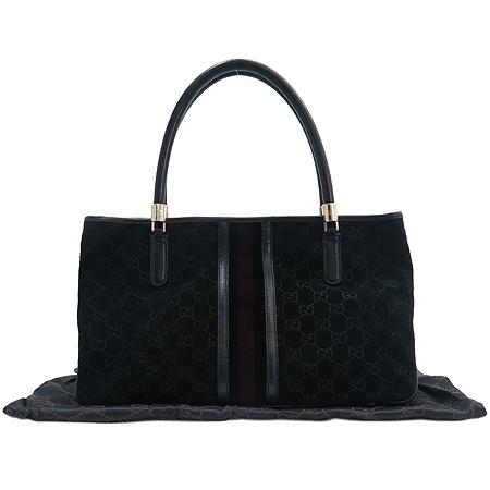 Gucci(구찌) 161717 GG 로고 스웨이드 토트백