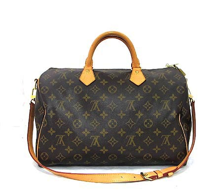 Louis Vuitton(루이비통) M40392 모노그램 캔버스 반둘리에 스피디35 토트백 + 숄더 스트랩 [분당매장]