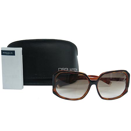 DSQUARED2(디스퀘어드2) DQ0052 05F 스퀘어 뿔테 선글라스
