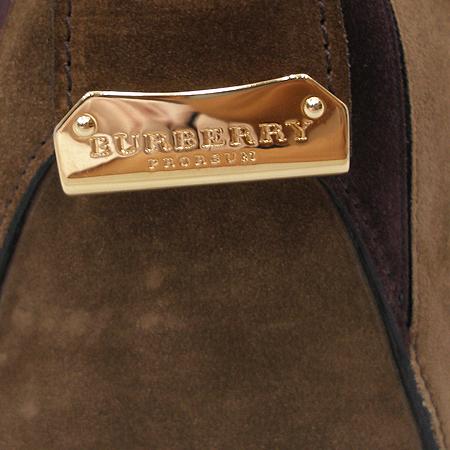 Burberry(버버리) 12FW시즌 프로섬 투톤 컬러 스웨이드 오차드 토트백