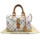 Louis Vuitton(루이비통) M92643 모노그램 멀티컬러 화이트 멀티스피디 30 토트백 [대구반월당본점]