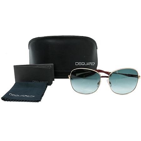 DSQUARED2 (디스퀘어드2) DQ0033 레더 장식 보잉 선글라스