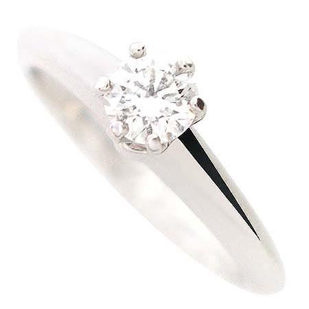 Tiffany(티파니) PT950(플래티늄) 0.21CT(캐럿) F컬러 VVS1 다이아 웨딩 반지-9.5호