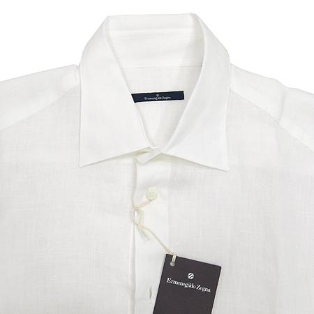 Zegna(제냐) 화이트컬러 마 셔츠