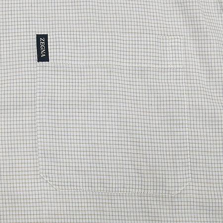 Zegna(제냐) 연그레이컬러 셔츠