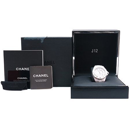 Chanel(����) H1629 J12 ȭ��Ʈ ����� 38MM 12P ���̾� �����ƽ ������� �ð�