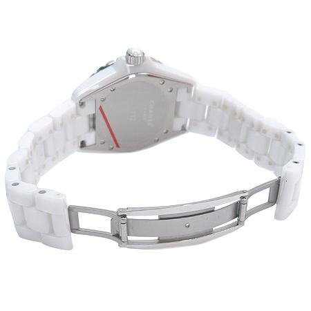 Chanel(샤넬) H1629 J12 화이트 세라믹 38MM 12P 다이아 오토매틱 남여공용 시계