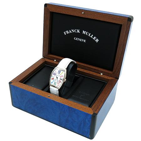 FRANCK MULLER(����ũ �ķ�) 7502QZ COLOR DREAMS 18K ȭ��Ʈ��� ������ �ð�