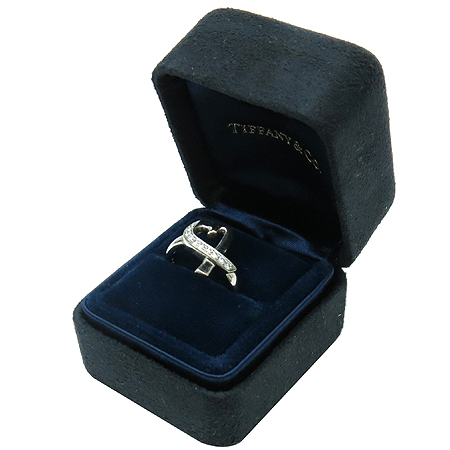 Tiffany(티파니) 18K(750) 화이트골드 파로마 피카소 러빙하트 10포인트 다이아 반지 - 9.5호
