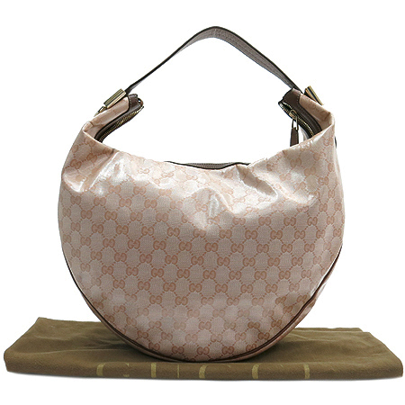 Gucci(구찌) 181492 GG로고 PVC 호보 숄더백