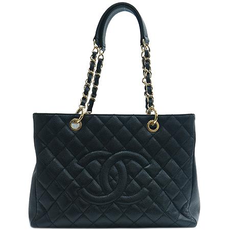 Chanel(샤넬) A20995Y01588 캐비어스킨 그랜드샤핑 금장 체인 숄더백 [명동매장]