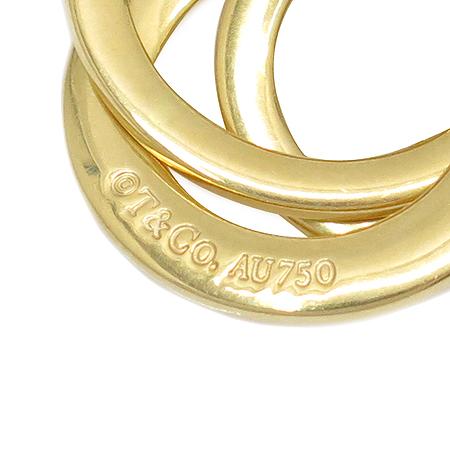 Tiffany(티파니) 18K 골드 1837 인터락킹 3링 목걸이 이미지5 - 고이비토 중고명품