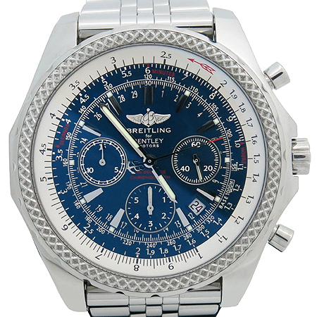 BREITLING(�����Ʋ��) A2536212/C618 BENTLEY (��Ʋ��) MOTORS (���佺) 48MM �����ƽ ũ�γ�׷��� ��ƿ��� ������ �ð�