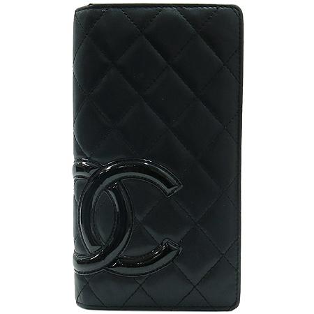 Chanel(샤넬) A26717Y03880 블랙 COCO 로고 깜봉 장지갑